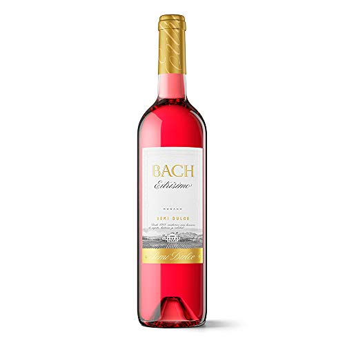 Bach Extrísimo - Vino Rosado Semidulce - 0.75 L