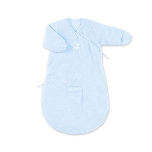 Bemini by Baby Boum 141STARY61SF Schlafsack Softy Stary Frost, 0-3 Monate, blau