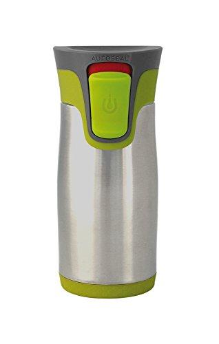 *Contigo Trinkflasche Aria limegreenEdelstahlbecher 300 ml, Autoseal*