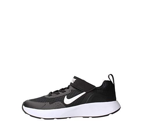Nike Wearallday, Chaussure de Course, Noir/Blanc, 31 EU