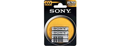 Sony R-03 SB 1,5V Zink-Chlorid Micro Batterie, AAA/R06, 4er Pack
