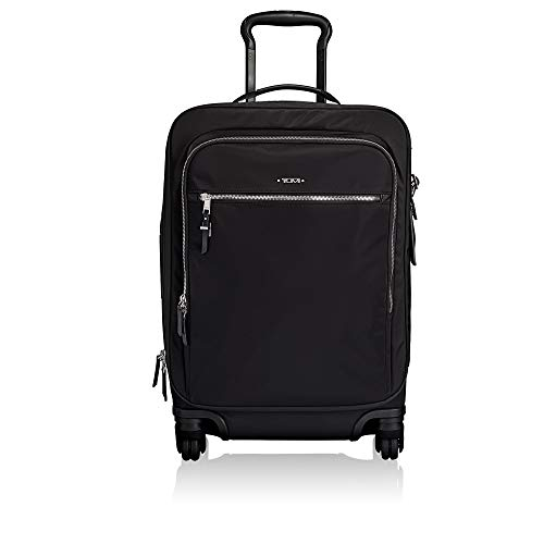 TUMI - Voyageur Tres Léger International Carry-On Luggage - 21 Inch Rolling Suitcase for Men and Women - Black/Silver