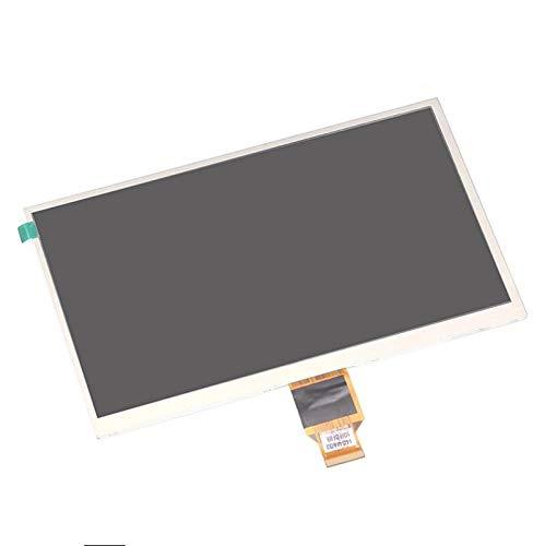 Monitor de Pantalla Plana Matriz de visualización LCD de 10,1 '' Pulgadas/Ajuste para Las ostras T12V 3G / DIGMA Optima 10.1 3G TT1040MG Tablet 1024 * 600 TFT LCD Pantalla LCD (Color : Black)