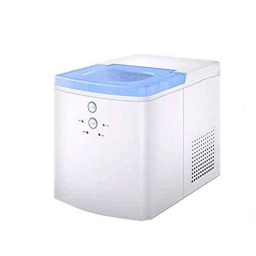 SHKUU Ice Cube Maker Máquina para Hacer Hielo encimera, Máquina Hielo automática portátil Wit, 93 W, Hielo 6 Minutos, 20 kg/día, para Fiestas, hogar, Oficina, Bar
