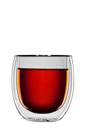 bloomix Teeglas Tanger 300 ml, doppelwandige Thermo-Teegläser, 2er-Set