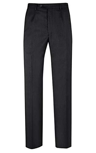 GREIFF Herren-Hose Anzug-Hose Service Classic - Style 8024 - schwarz, Größe: 52