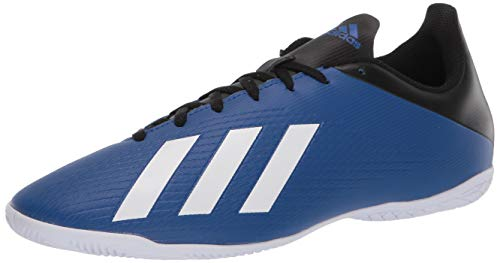 adidas Men's X 19.4 Indoor Boots Soccer Shoe, Team Royal Blue/FTWR White/core Black, 13.5 M US
