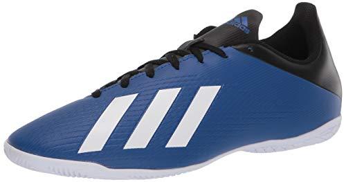adidas Men's X 19.4 Indoor Boots Soccer Shoe, Team Royal Blue/FTWR White/core Black, 10 M US