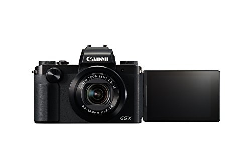 Canon PowerShot G5 X Digital Camera w/ 1 Inch Sensor and Built-in viewfinder - Wi-Fi...