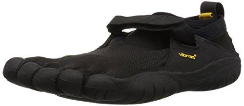 Vibram FiveFingers KSO, Chaussures de Cross Femme, Noir (Black), 43 EU