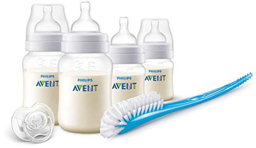 Philips Avent Scd806/00 - Set De Recién Nacido Gama Anti-Colic, 4 Biberones Color Transparent
