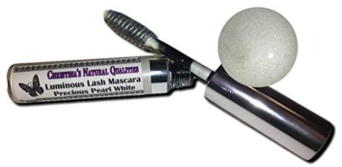 All Natural Eyelash Primer - White Mascara - Precious Pearl White