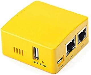 Noblik Pi R2S OpenWrtシステムRK3328、ミニルーターデュアルギガビットポート、1GB大容量メモリ