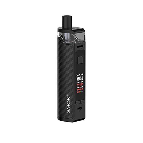 SMOK RPM80 Pro Mod Mod Pod Kit avec 5ml Pod Power by 18650 Batterie Max 80W Output Pod System e cig Kit Sans nicotine