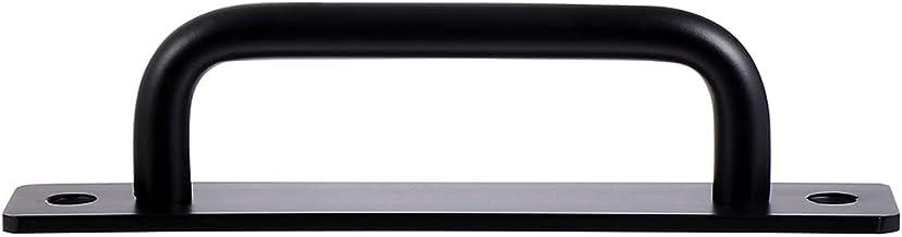 Baluue 1 Set Schuifdeuren Schuur Deur Handvat 210Mm Zware Frosted Zwart Oppervlak Voor Garages Werpt Meubels