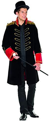 Rubie\'s 14321-50 Zirkusdirektor Kostüm Größe 50 Herren Karneval Zirkus Manege Frack, Multi-Colored