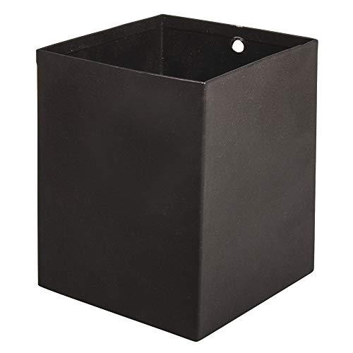 Rayher 25188576 Utensilo Panier en métal, 8 x 8 x 10 cm, noir