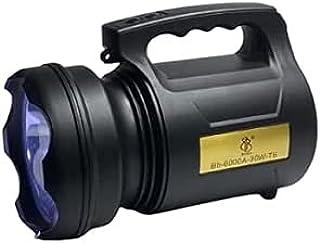 Lanterna de Led Holofote Super Potente 30w T6 - Tm 6000