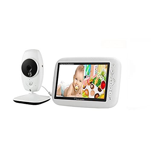 WQY Monitor Inalámbrico para Bebés Cámara De Seguridad En Color De 7 Pulgadas Visión Nocturna IR LED Control De Temperatura