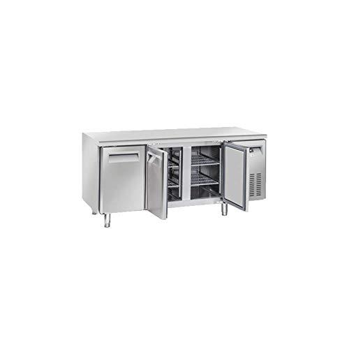Table Réfrigérée Négative Profondeur 600-3 Portes - Cool Head - 600