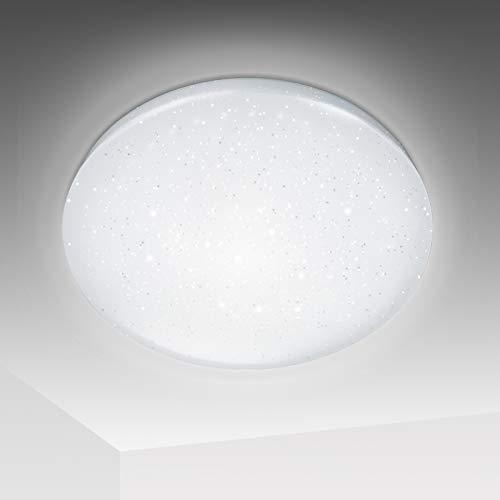 Hengda LED Deckenleuchte Sternenlicht Deckenlampe, 50W kaltweiss für Schlafzimmer Wohnzimmer, 50000 Stunden Φ45cm, 6500K, IP44 Wasserdicht Deckenleuchte