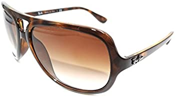 Ray Ban 59 mm Havana Sunglasses