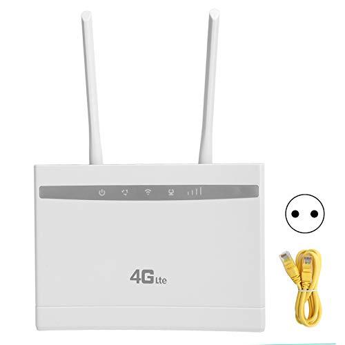 Surebuy Enrutador WiFi 4G LTE para Coche, enrutador WiFi 4G, CREA WLAN en Cualquier Lugar para la conexión de Red doméstica