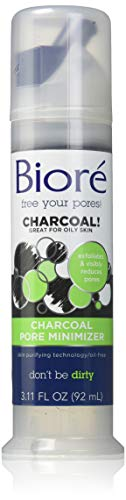 Biore Charcoal Pore Minimizer, 3.11 Ounce (2 Pack)