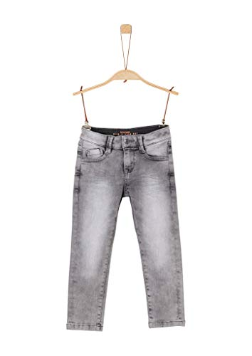 s.Oliver Jungen Slim Fit: Jeans mit Waschung Grey 122.Slim