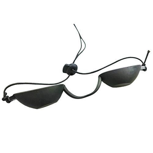 Ogquaton Flexibler UV-Augenschutz Solarium für drinnen und draußen Sonnenbrillen Strandbrillen zum Sonnenbaden Praktisch