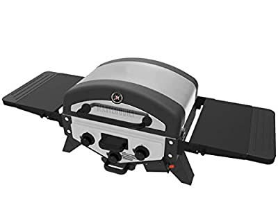 Masterbuilt MB20030519 MPG 300S Tabletop Gas Grill, Stainless Steel
