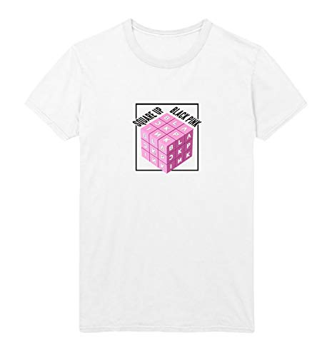 Kpop Kill This Black Love Pink_MRZ5597 Camiseta 100% algodón para hombre, suéter de verano, regalo, casual hombre - blanco - Medium