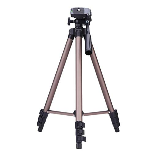 BSTEle Portable Camera Tripod Stand with Rocker Arm for...