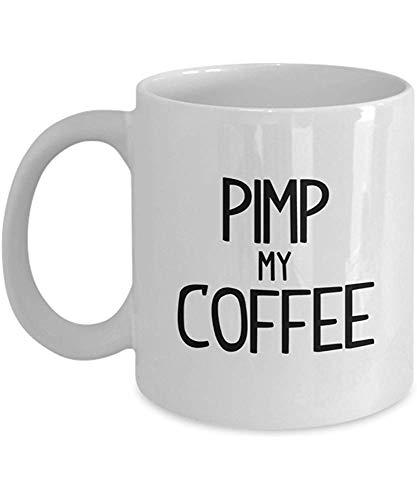 Egoa Mug Pimp My Porzellan Tasse Tee Becher Geschenke Kaffeebecher Weiß Unique 330Ml