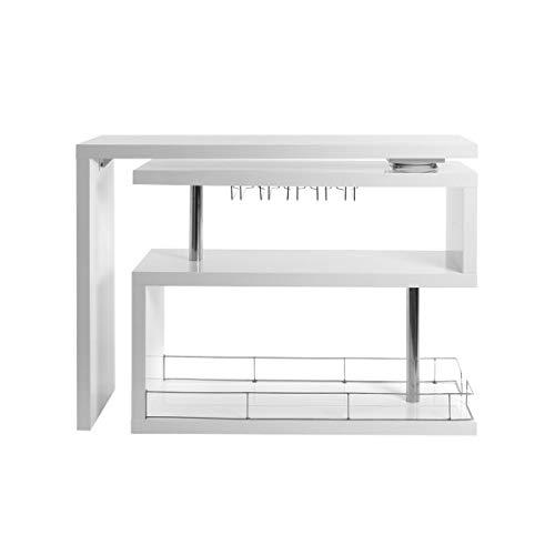 Miliboo - Bar Design Laccato Bianco Max