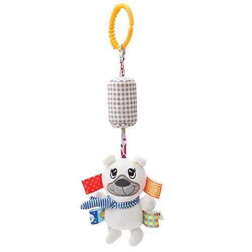 Doolland Baby Rasseln Spielzeug Tier Plüsch Glocke Bett Hängen Spielzeug Kinderbett Hängen Geschenk für Babys Kleinkinder Kinderwagen Schmuck