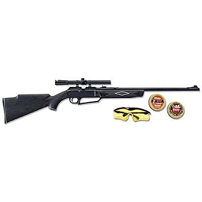 880 Powerline Air Rifle Kit, Dark Brown/Black, 37.6 Inch/.177 Caliber