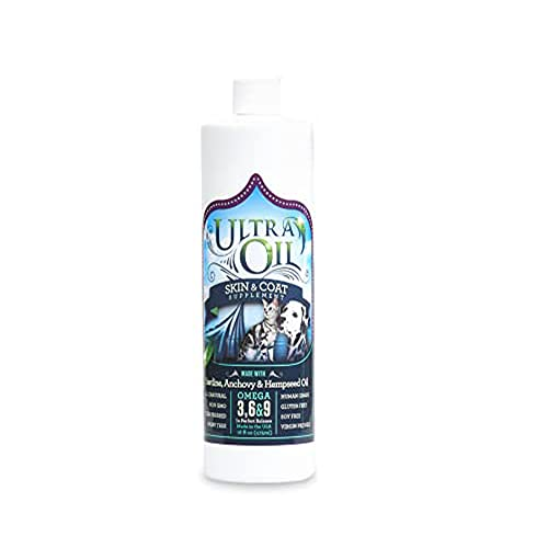 Ultra Oil Skin and Coat Supplement for Dogs and...