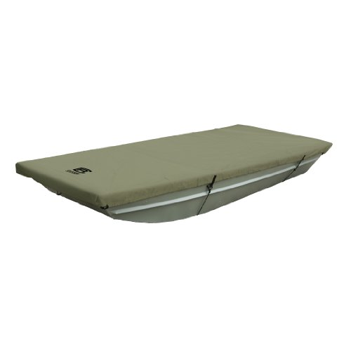 "Classic Accessories Jon Boat Cover, Olive, Fits 12' - 14' L x 52"" W"