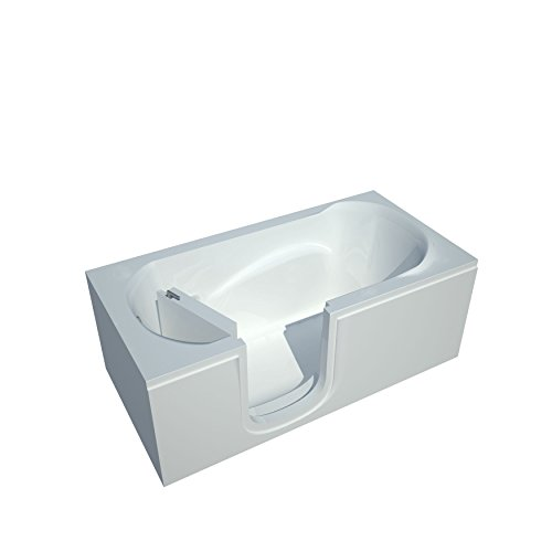 Spa World Venzi Rectangular Soaking Walk-In Bathtub