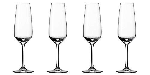 vivo by Villeroy & Boch Group - Voice Basic Set di bicchieri da champagne, 4 pz., 283 ml, bicchiere in cristallo, lavabile in lavastoviglie