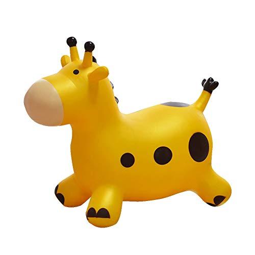 YLZT Aufblasbare Pferdetrichter-Pumpe eingeschlossen Baby-Schaukelpferd-springendes Pferdraum-Trichter-Fahrt auf federnd Tier