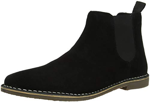 Red Tape Arizona, Herren Chelsea Boots, Schwarz (Black Suede 000), 44 EU (10 UK)