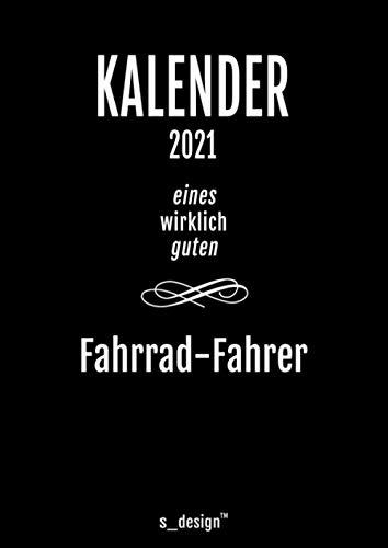 Kalender 2021 für Fahrrad-Fahrer: DIN A4 Tagesplaner / Wochenplaner / Terminkalender für das ganze Jahr: Termin-Planer / Termin-Buch / Journal für ... von 7 bis 21 Uhr (4 Termine pro Stunde)