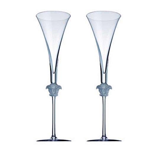Rosenthal - Medusa Lumiere - Sektgläser, Champagnergläser - 2er Set - Kristallglas - 200 ml