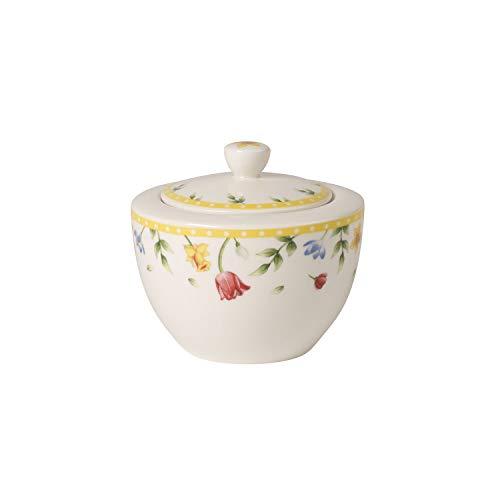 Villeroy & Boch Spring Awakening Sucrier, 300 ml, Porcelaine Premium, Jaune/Multicolore