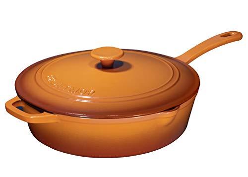 12 cast iron chicken fryer - 5