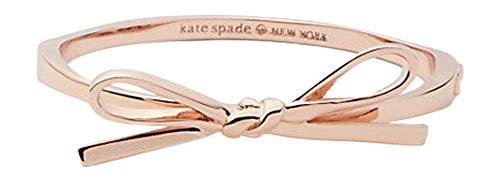 Kate Spade Skinny Mini Bow Bangle Bracelet, Rose Golden
