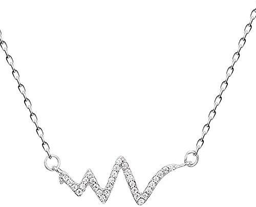 Collar para Mujer Hombre Collar Cadena de clavícula hipoalergénica Collar Cadena de clavícula Collar personalizado Joyas para mujer Regalos de cumpleaños para mujeres Collar Cadena colgante para Mujer