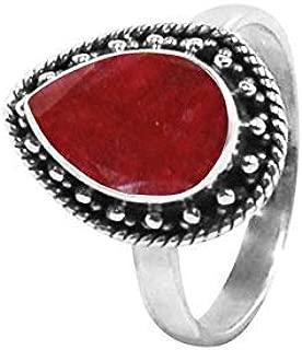 raw ruby ring